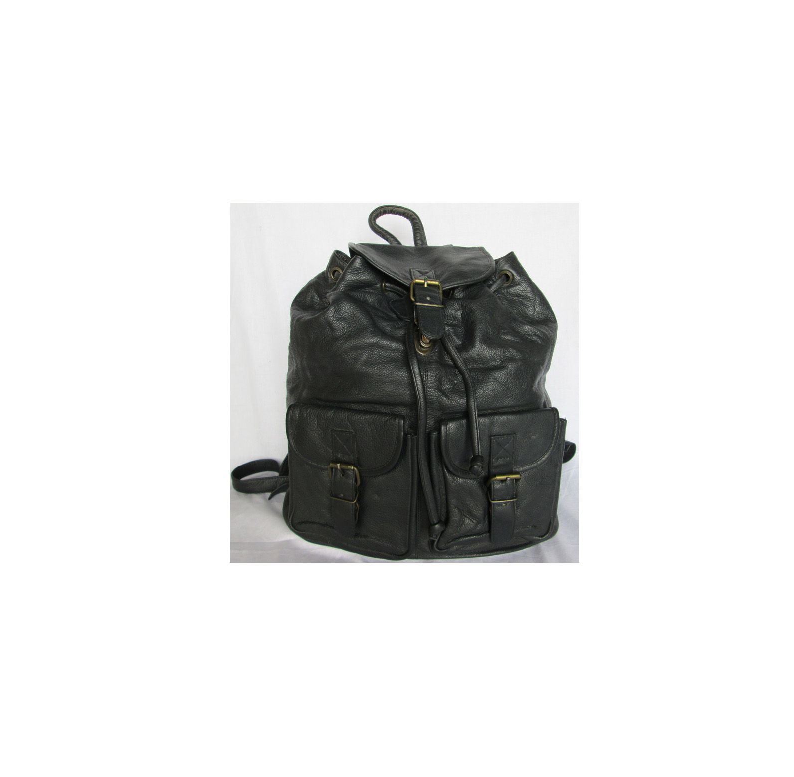 Genuine Leather backpack-201